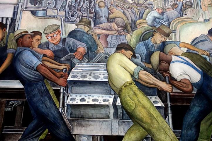 Detroit Institute of Arts - The Diego Rivera Court