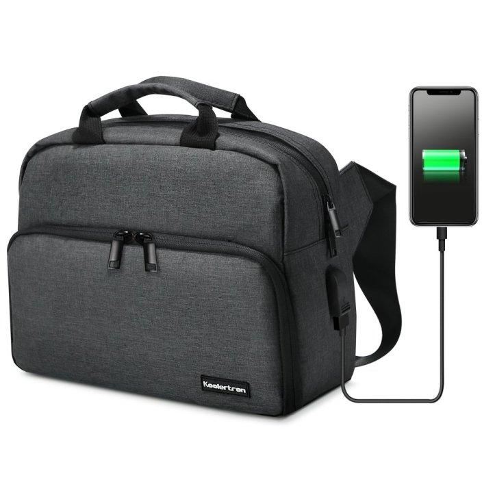 Koolertron's sling bag with USB port