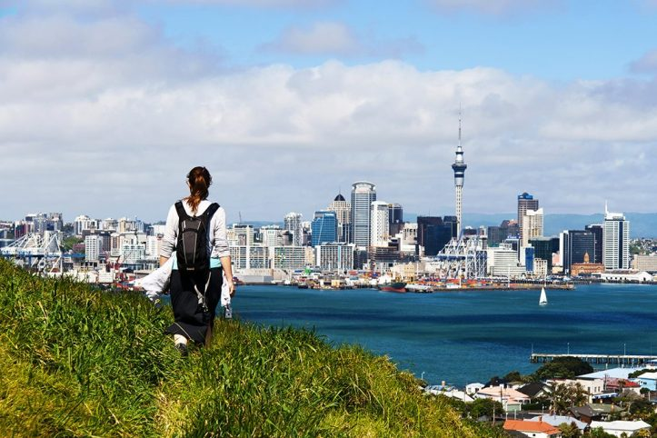 Auckland From Mount Victoria