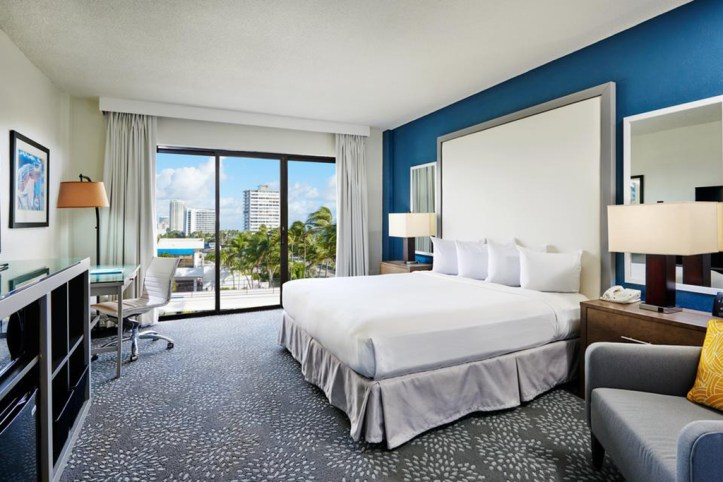 Bahia Mar - Fort Lauderdale Beach - DoubleTree by Hilton Room