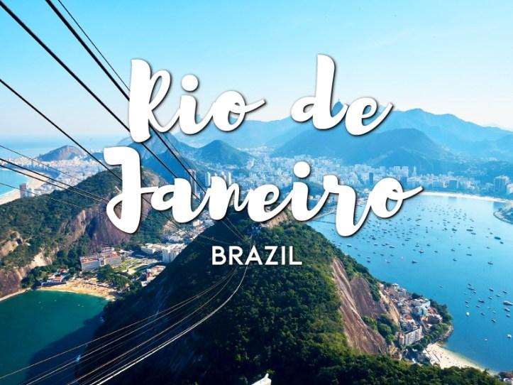 One day in Rio de Janeiro Itinerary