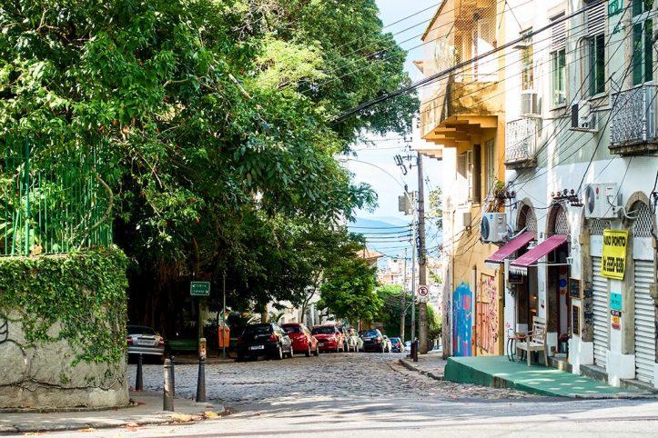 Street at Santa Teresa