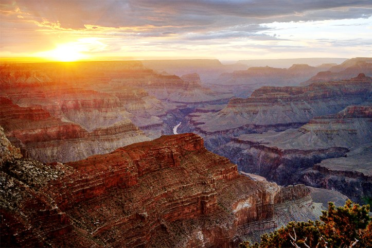 Sunset view from Hopi point