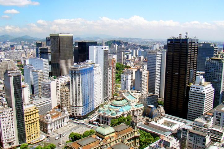 View at Rio de Janeiro center
