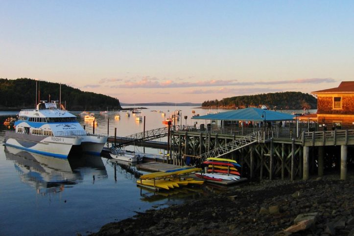 Bar Harbor Dock, Acadia National Park