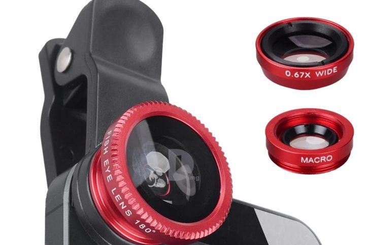 Clip-on lens