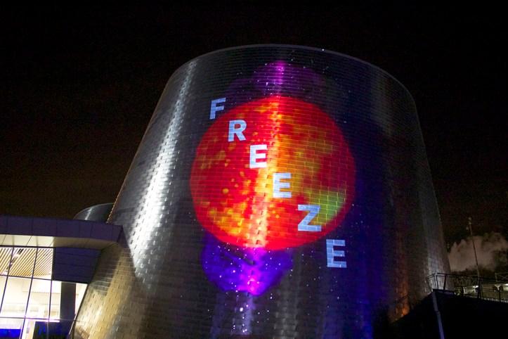 Lightshow at the Rio Tinto Alcan Planetarium