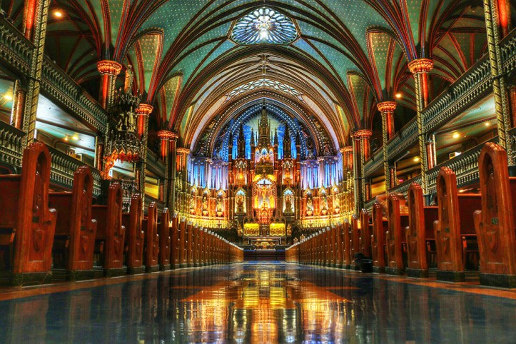 Notre- Dame Basilica of Montreal