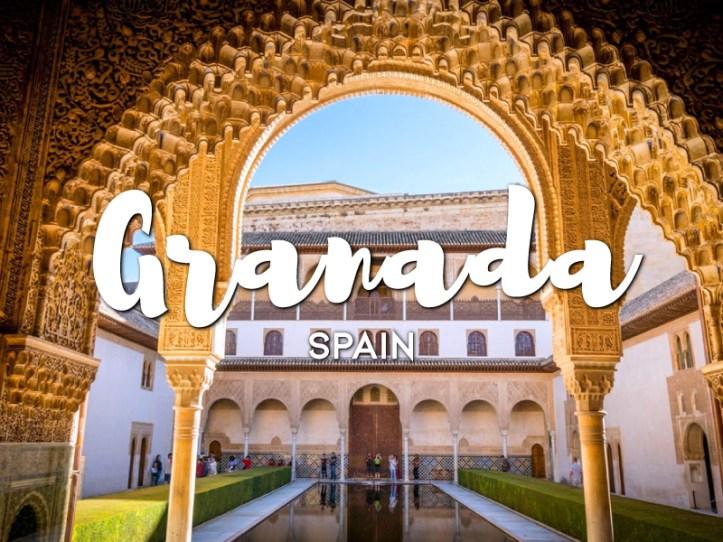 One day in Granada itinerary