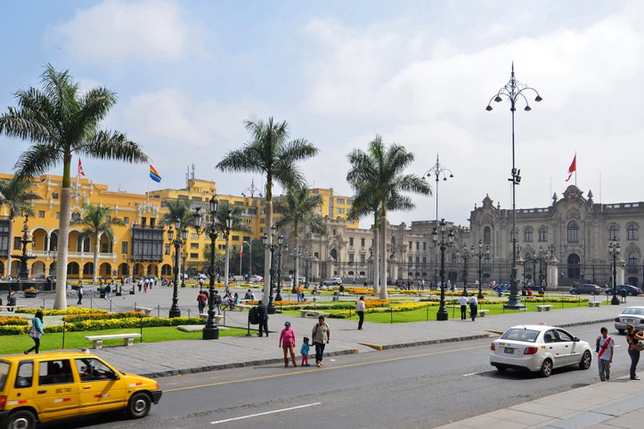 Plaza Major, Lima