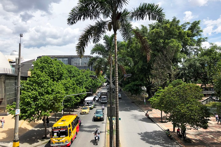 Street of Medellin