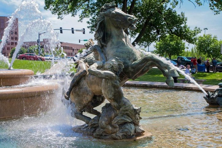 City fountain, Kansas City