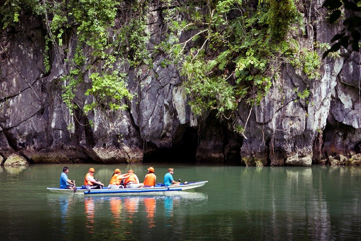 Mouth of the cave of the Puerto Princesa Underground River