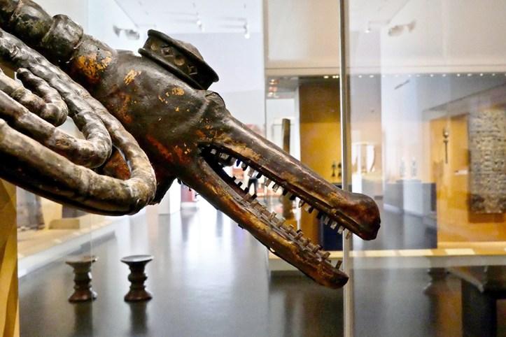 Nelson Atkins Museum Crocodile