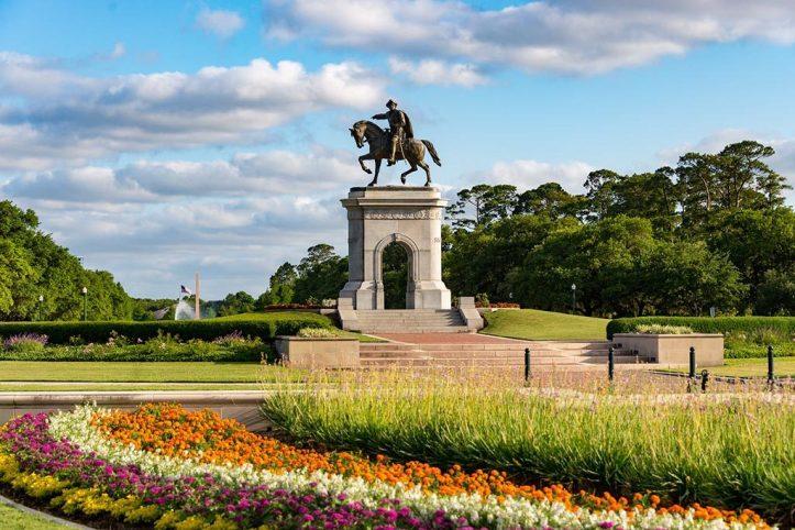 Sam Houston Monument, Houston