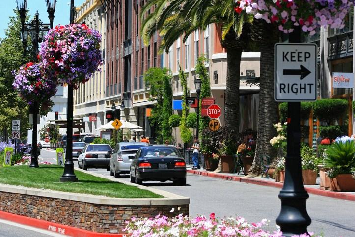 Santana Row, San Jose