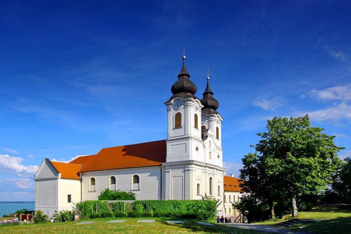 Tihany Abbey, Lake Balaton