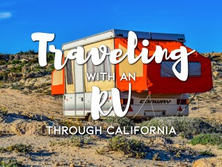 Traveling with an RV through California