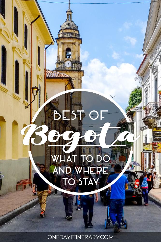 One day in Bogota