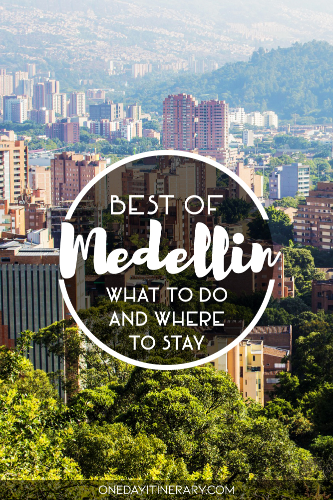 One day in Medellin
