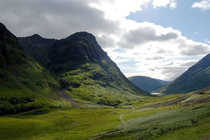 Glencoe Mountains, Scotland