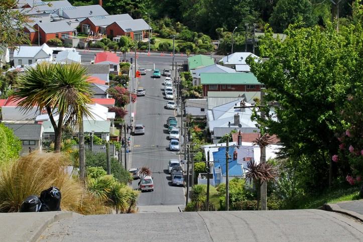Down Baldwin Street, Dunedin