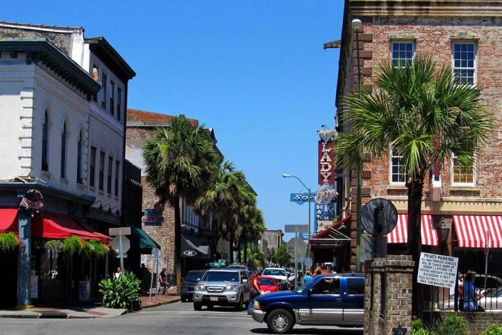 Downtown Savannah