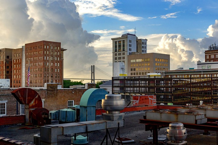 Rooftop picture, Savannah