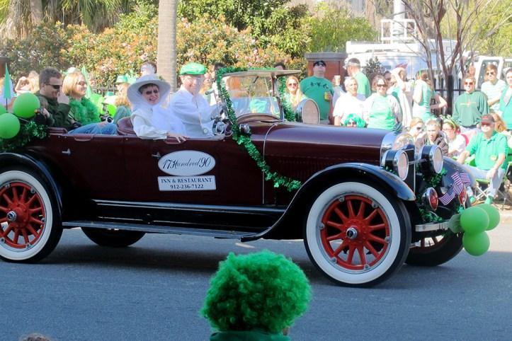 St Patrick's Day Parade, Savannah