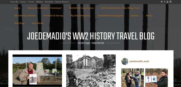 Joedemadio's WW2 Travel Blog