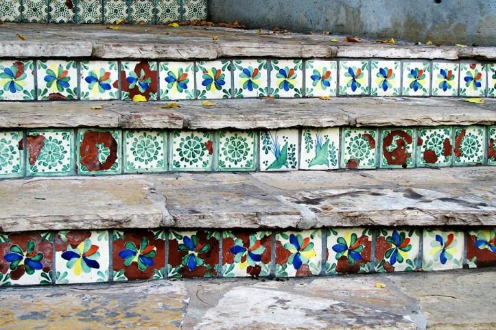 Spanish tiles, San Antonio