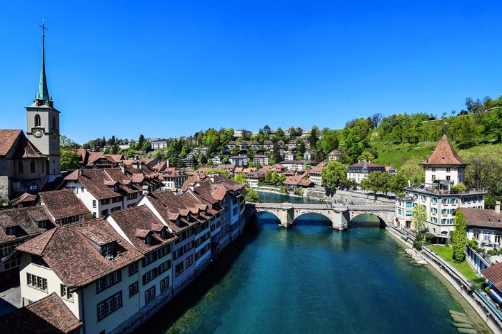 The Aare River, Bern