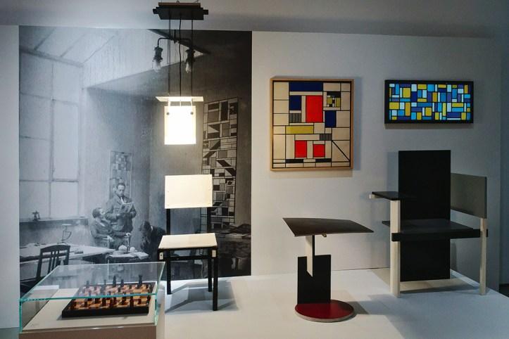 Bauhaus living exhibition at Boijmans van Beuningen, Rotterdam
