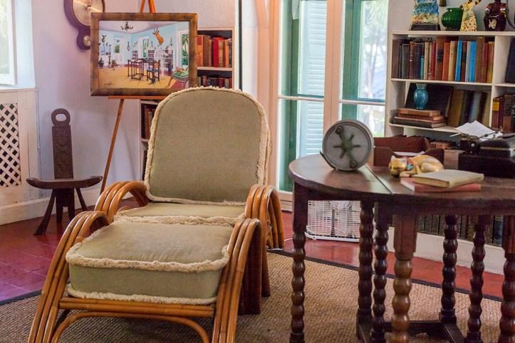 Ernest Hemingway Home Interior, Key West