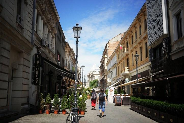 French Street, Bucharest