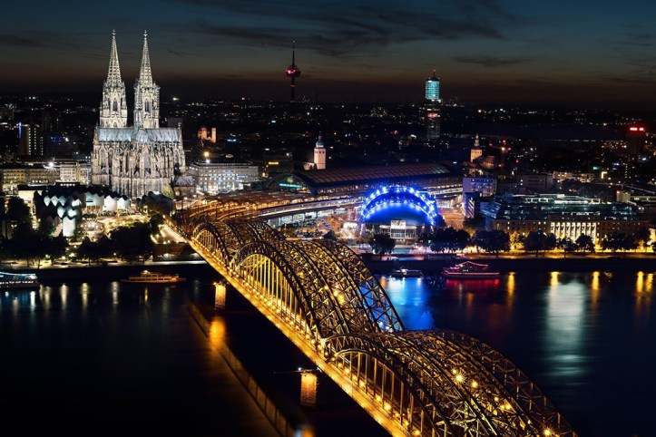 Köln Triangle View