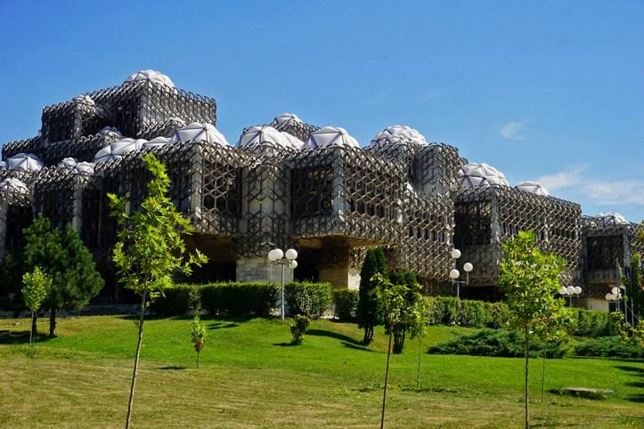 National Library of Kosovo, Pristina