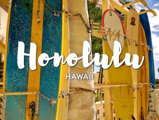 One day in Honolulu Itinerary, Hawaii