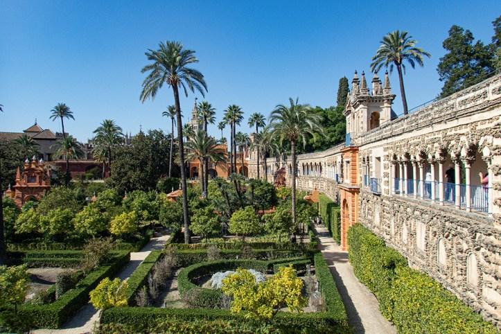 Royal Alcázar Gardens, Seville