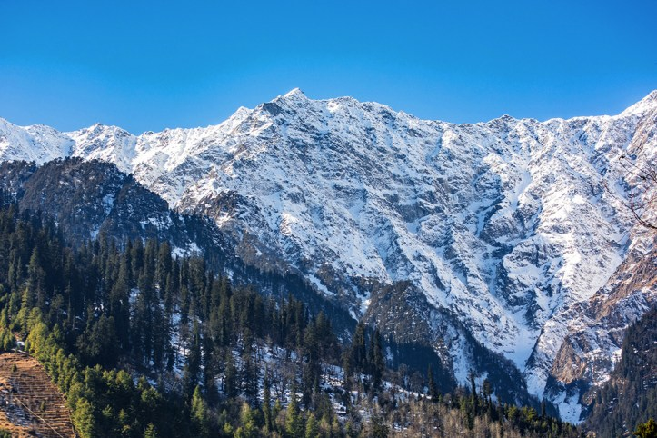 Snow Caped Mountain, Manali
