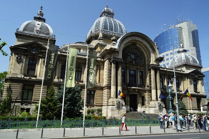 The CEC Palace, Bucharest