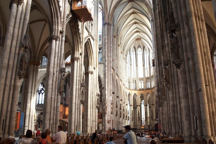 The Inside of Cologne Cathedral