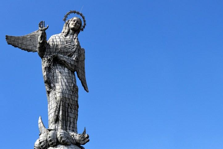 The Virgin of El Panecillo, Quito