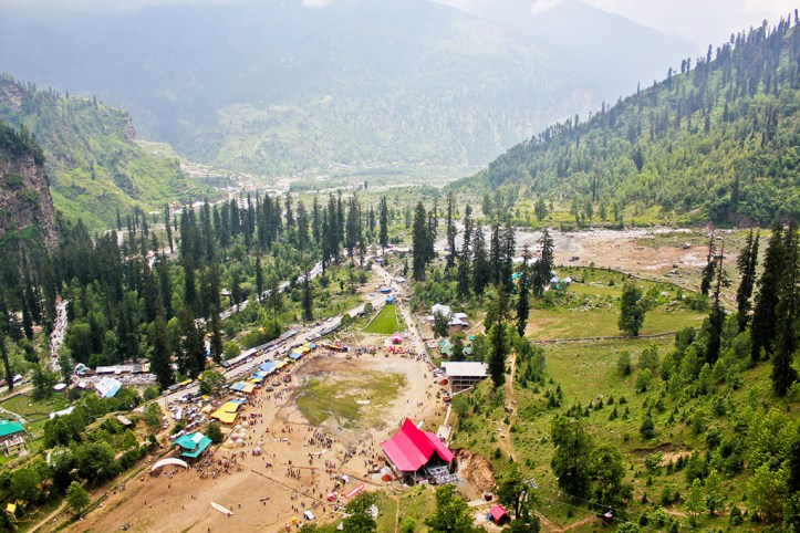 View from Solang Valley, Manali