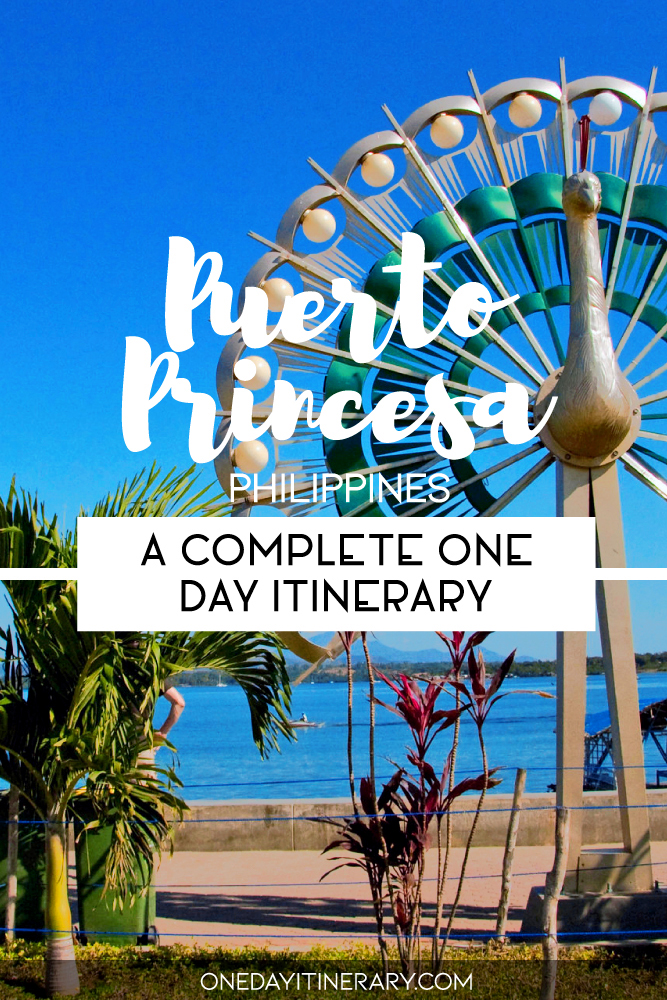 One day in Puerto Princesa