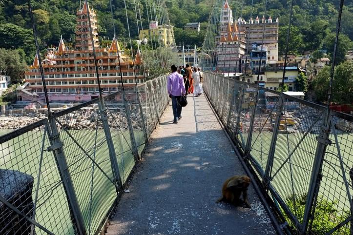 Lakshman Jhula bridge, Rishikesh