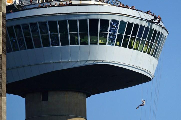 The Euromast Tower, Rotterdam