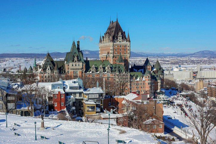 Quebec in Winter