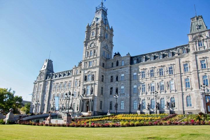 The Parliament Building, Quebec