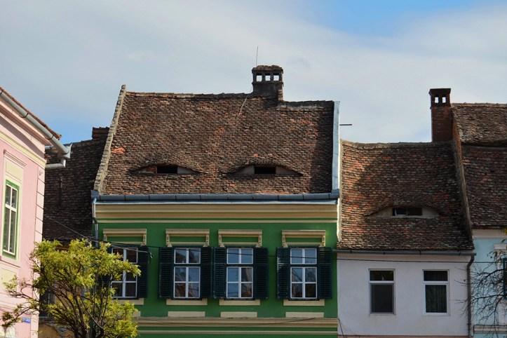 Houses with eyes, Sibiu